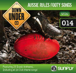 SUNFLY AUSSIE CLASSICS CDG VOL.14 AUSSIE RULES FOOTY SONGS