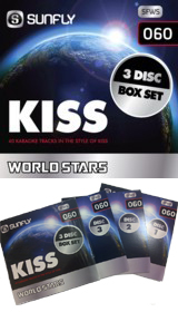 SUNFLY WORLD STARS CDG VOL.60 - KISS 3 CDG PACK