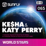 SUNFLY WORLD STARS CDG VOL.65 - KESHA & KATY PERRY