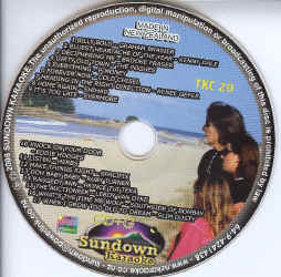 TKC20 SUNDOWN KARAOKE CDG