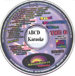 TKC6 SUNDOWN KARAOKE CDG