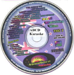 TKC7 SUNDOWN KARAOKE CDG