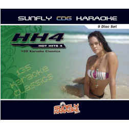 SUNFLY KARAOKE HOT HITS PACK Vol.4 - SFHH4