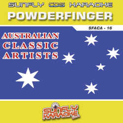 SUNFLY AUSTRALIAN CLASSIC ARTISTS CDG Vol.16 -�POWDER FINGER