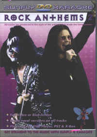 SFDVDRK2 SUNFLY DVD ROCK ANTHEMS VOL.2