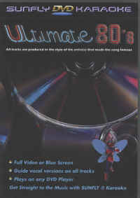 SFDVDUL3 SUNFLY DVD ULTIMATE 80'S