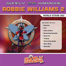 SUNFLY WORLD STARS CDG VOL.3 - ROBBIE WILLIAMS VOL.2 - SFWS003