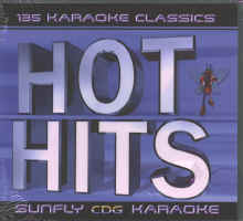 SUNFLY KARAOKE HOT HITS PACK Vol.1 - SFHH1