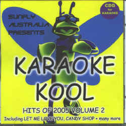 SUNFLY KARAOKE KOOL CDG VOL.2 - HITS OF 2005 vol.2 - SKK2