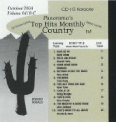 THMC0410 TOP HITS MONTHLY CDG COUNTRY