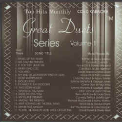 THMDUETS1 TOP HITS MONTHLY CDG Duets volume 1