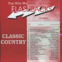 THMFB05 TOP HITS CDG FLASHBACKS  VOL.#05 - CLASSIC COUNTRY