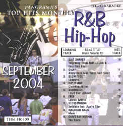 THMH0409 TOP HITS MONTHLY CDG R&B/HIP HOP