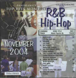 THMH0411 TOP HITS MONTHLY CDG R&B/HIP HOP