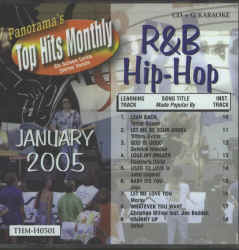 THMH0501 TOP HITS MONTHLY CDG R&B/HIP HOP
