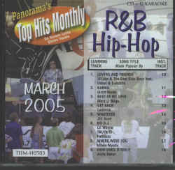 THMH0503 TOP HITS MONTHLY CDG R&B/HIP HOP