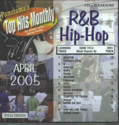 THMH0504 TOP HITS MONTHLY CDG R&B/HIP HOP