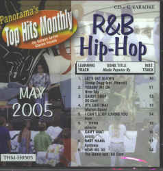 THMH0505 TOP HITS MONTHLY CDG R&B/HIP HOP