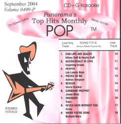 THMP0409 TOP HITS MONTHLY CDG POP