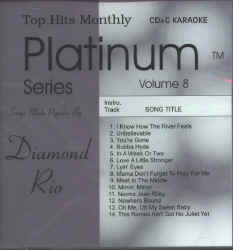 THMPL08 TOP HITS MONTHLY CDG PLATINUM  VOL.#08 ~ DIAMOND RIO
