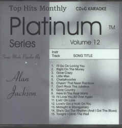 THMPL12 TOP HITS MONTHLY CDG PLATINUM  VOL.#12-ALAN JACKSON
