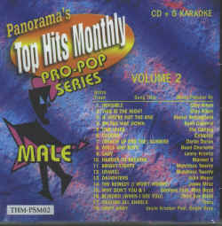THMPSM02 TOP HITS MONTHLY CDG PRO-POP�SERIES MALE VOL.#02